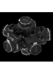 Comprar Montura 360Helios 7 para video 360 con cámaras BlackMagic Design