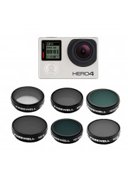 Comprar Pack 6 Filtros para Gopro Hero 3/3+/4