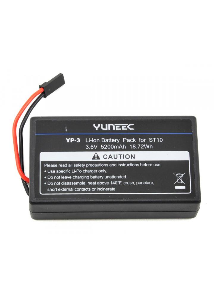 Comprar Batería LiOn 5200 mAh 1-Celda / 1S 3.6V para emisora Yuneec ST10+