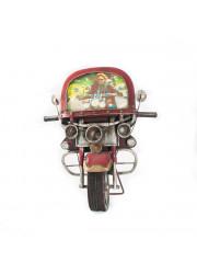 PortaFotos Moto Roja (Moto...