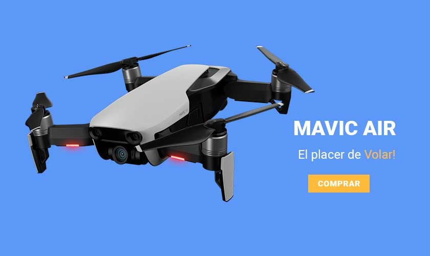 Mavic Air - El Placer de Volar